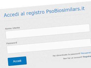 FARMACI BIOSIMILARI PER LA PSORIASI: IL REGISTRO ITALIANO